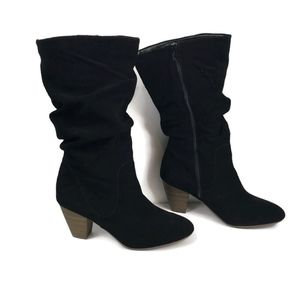 Sonoma Sketch Suede Slouch Boots Black